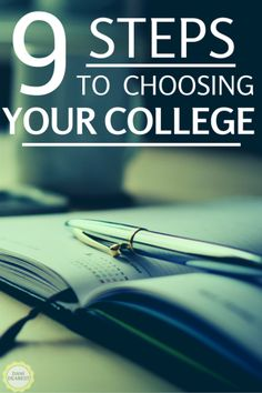 Choosing which college or university to go to can be incredibly stressful. Follow these 9 steps to help the process go smoothly! #college #university #highschool http://danidearest.com/