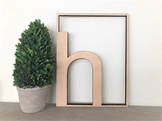 This unique letter rectangle sign is perfect for your nursery, home or wedding and would make such a statement! Stained for a wonderful look. Made from wood. Unfinished means the item comes unpainted or unstained, it is sanded and ready to finish how you want or leave it beautifully