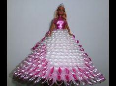 Barbie de eva com garrafa pet - YouTube