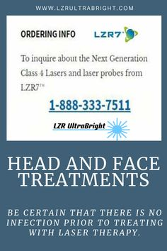 Be certain that there is no infection prior to treating with laser therapy. If there is a significant amount of mucous, ask the patient to consult their doctor or start a saline flush before starting laser therapy. The mucous must be loose and draining before using a laser on the sinuses. Once the sinuses have started to drain, $200 off any UltraBright! To get this special price and save $200 you must enter coupon code: GLOW   #lzrultrabright #beautyinbloom #cancertherapy #led #ultrabright Led Therapy, Light Therapy, Face Light, Face Treatment, How To Get, How To Plan, Glow, Coupon, Coupons