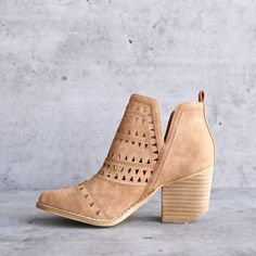 spring valley cutout ankle bootie - more colors from shophearts. Shop more products from shophearts on Wanelo. Fall Shoes, Spring Shoes, Winter Shoes, Summer Shoes, Crazy Shoes, Me Too Shoes, Buy Shoes, Over Boots, Dress Up