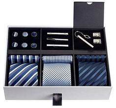Silky & Looks Great: Premium Men's Gift Tie Set Gift Box For Men, Gifts For Dad, Birthday Gifts For Boyfriend, Boyfriend Gifts, Bff Birthday, Cool Gifts, Best Gifts, Diy Gifts, Unique Gifts