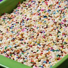 TO DIE FOR RICE KRISPY TREATS