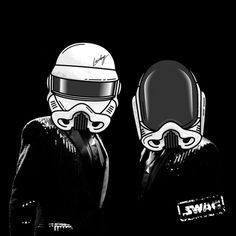 Daft Punk storm troopers