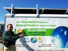 Ati Energia Distributed Mobile Solar Electricity with Energy Storage