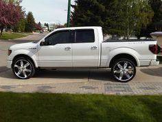 2010 ford f 150 platinum edition on 28 inch asanti af143 rims f150 on 24s 24 vs 26 img00188 20110601 1708g freerunsca Images