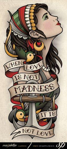 48 Ideas tattoo old school sleeve banners Dog Tattoos, Cat Tattoo, Forearm Tattoos, Animal Tattoos, Girl Tattoos, Tattoo Arm, Ak47 Tattoo, Flash Tattoos, Hand Tattoos