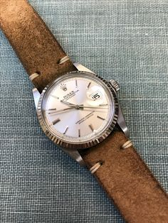 Vintage Watches Collection : Rolex Datejust - Watches Topia - Watches: Best Lists, Trends & the Latest Styles Diamond Watches For Men, Fancy Watches, Rolex Watches For Men, Best Watches For Men, Vintage Watches For Men, Vintage Rolex, Luxury Watches, Cool Watches, Trendy Watches