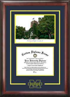 U of M diploma