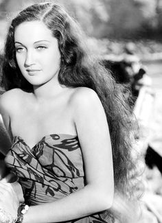 ♥ Old Hollywood ♥ Dorothy Lamour in Her Jungle Love. (1938)
