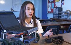 13-year-old girls BCI project wins award at the Florida State Science Fair (video) - Neurogadget.com