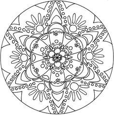 Free Printable Spiritual Mandala Coloring | Amazing Coloring Pages: Mandalas printable coloring pages