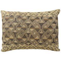 African Shoowa Bolster Pillow