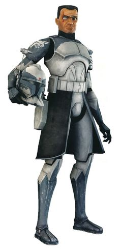 Commander Wolffe - A clone commander who led the 104th Battalion's Wolfpack under Jedi General Plo Koon in Star Wars: The Clone Wars.