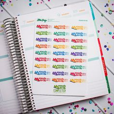 Introducing: Lillie Henrys NEW FUN-ctional Planner Stickers!  If youre like me, you love using cute, colorful stickers to decorate your planner. And,