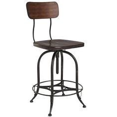 Stanford Swivel Counterstool - Wood