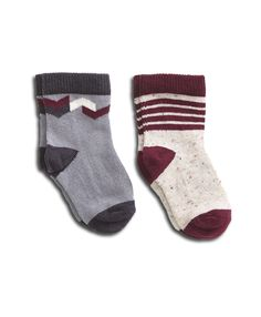 Ethically produced, organic baby socks