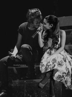 harry styles and ariana grande | ... fazer a gente desejar que Ariana Grande e Harry Styles fiquem juntos