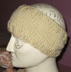Free Knitting Pattern Ear Warmer Hat : 1000+ images about Knitting Ear Warmers on Pinterest Ear ...