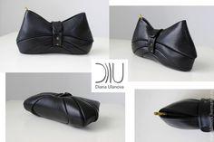 Купить Косметичка - черный, косметичка, маленькая сумочка, клатч, черный клатч, элегантный клатч