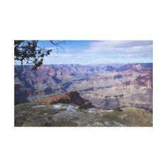 Grand Canyon Vista 3 Gallery Wrapped Canvas #gift #photogift #zazzle #Christmas