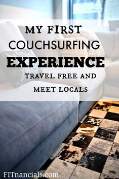"I met up with a complete stranger from Couchsurfing.com. They were verified/background checked and had numerous references, so I went the ""safer"" route."