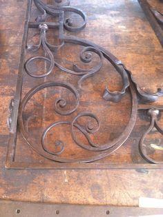 Made by Peter M. Iron Gate Design, Iron Work, Blacksmithing, Home Renovation, Wrought Iron, Metal Art, Baroque, Metal Working, Art Nouveau
