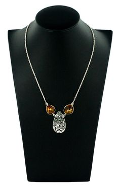 cbcac0216391 Amber Warmth Necklace