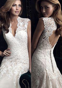 Wedding Gowns : 8965 Hmm an A line?