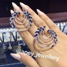 "431 Likes, 6 Comments - @apey_jewellery on Instagram: ""☺️Sabahiniz Xeyirli Olsun"""