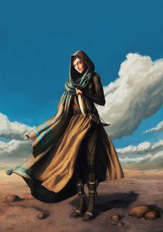 Saint Alia of the Knife by scrapchap