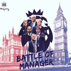 Battle of Manager in The Premier League season 2016-2017 #premierleague #mourinho #guardiola #conte #klopp #wenger #ranieri #mufc #mcfc #cfc #lfc #arsenalfc #lcfc #football #iphoneartists