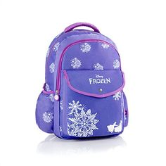 Heys Disney Frozen Elsa Anna Tween 17 Backpack Laptop Tablet Sleeve Kids Rucksack Full Size (Purple) @ niftywarehouse.com #NiftyWarehouse #Frozen #FrozenMovie #Animated #Movies #Kids