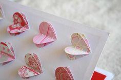 3-D heart card