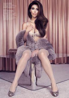 Kim Kardashian for Factice Magazine
