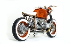 """BMW R80 Brat Style """"Roth Child"""" by Side Rock Cycles #motorcycles #bratstyle #motos 