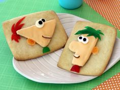 All things Phineas & Ferb: recipes, games, printables