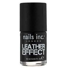 Leather effect top coat #nailpolish #autumn2013 #topcoat