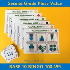This bingo game (100-499) is designed to help students count in hundreds, tens and ones up to 499. Students will get the opportunity to practice counting, reading