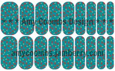 Cherry Fever Nail Wrap - Contact me to order!  amycoombs.jamberry.com