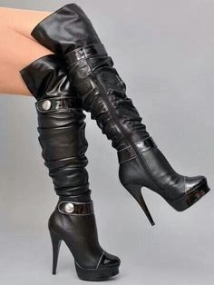 hot shoes for women Sexy High Heels - Women& Shoes Photo - Fan . Hot Shoes, Crazy Shoes, Me Too Shoes, Shoes Heels, High Heel Boots, Knee Boots, Heeled Boots, Bootie Boots, Boot Heels
