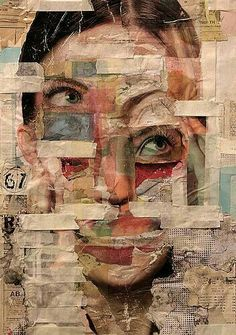 collage by rael brian 2013 Collage Kunst, Collage Art, Collages, Art And Illustration, Psychedelic Art, Arte Inspo, Gcse Art Sketchbook, A Level Art, Wow Art