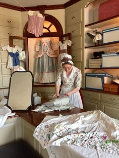 Millinery Shop at Colonial Williamsburg