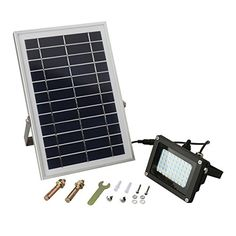 Outdoor Décor-Solar Lights Aerlemai Solar Powered LED Spotlight Solar Floodlights Outdoor Waterproof Garden Lighting 54LED 400 Lumen 5200mAh for Home Patio Deck Yard GardenDriveway Outside Wall * You can find more details by visiting the image link.