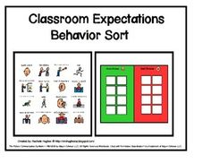 """This behavior sort is designed to help students understand their expectations in the classroom setting. It is a follow up activity to the social story, """"My New Classroom"""" about classroom rules. Classroom Expectations, Classroom Rules, New Classroom, Classroom Setting, Is My Child Autistic, Improve Communication Skills, Behavior Interventions, Stem Cell Therapy"""