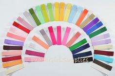 great source for hair clips. use this as the base and embellish at will. think soccer season!
