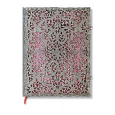 Silver Filigree - Blush Pink  - Ultra - Lined - PaperBlanks