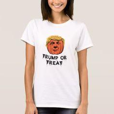 #Trump Or Treat Halloween T Shirt - #Halloween happy halloween #festival #party #holiday
