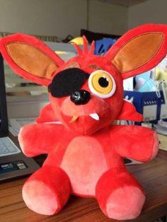 """Sold 10"""" FNAF Five Nights at Freddy's Sanshee Freddy Plush Fox Toy Kid Xmas Gift…"""