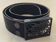 Belt Buckle by Xavier ROUSSIN-BOUCHARD | 3D Printing Shop | i.materialise #3dprinting